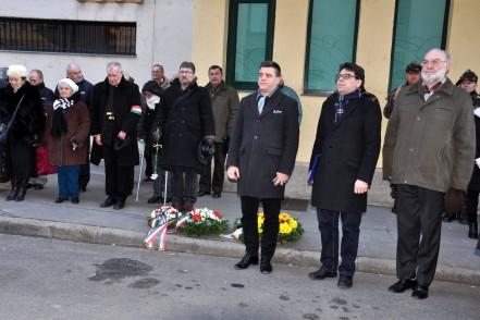A Kommunizmus Áldozatainak Emléknapja Újpesten